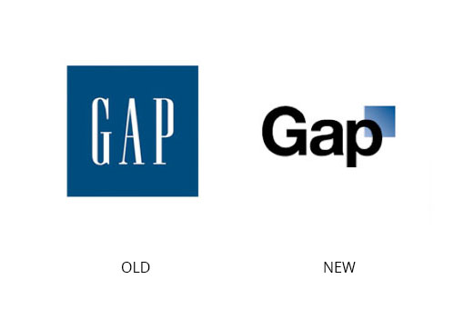 Gap's bad logo design