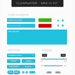 Clearwater | UI Kit